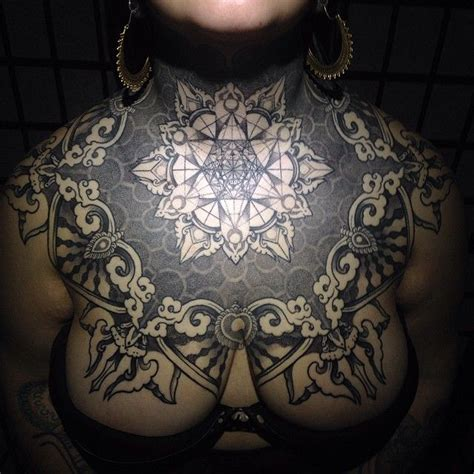 female chest piece tattoo designs 25 best chest tattoos ideas on chest