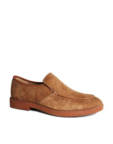 classic hush puppies shoes hush puppies hush puppies classic slip on shoes at asos