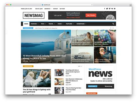 best news site 34 best newspaper themes for news 2018