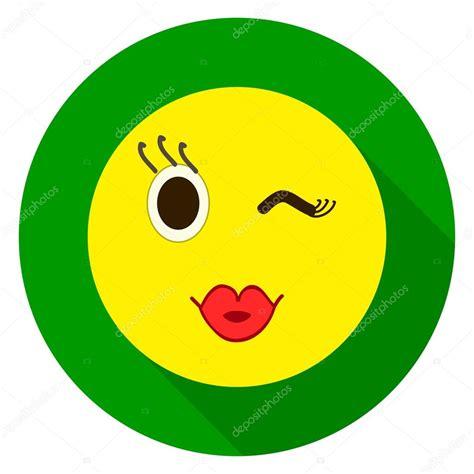 imagenes de besos emoji cara de emoticon beso un beso emoji ilustraci 243 n de