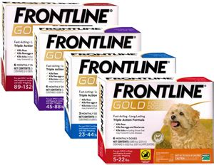 frontline gold for dogs frontline gold for cats okvetsupply
