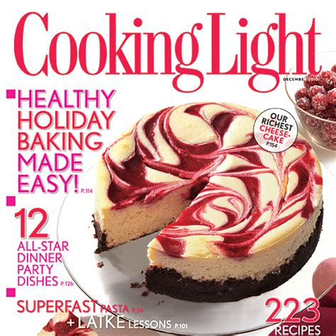 cooking light magazine recipes cooking light magazine december 2010 issue cooking light