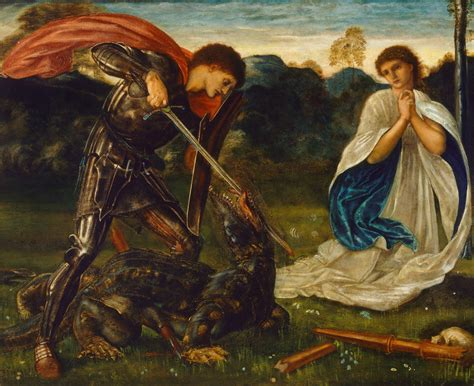 saint george and the dragon the pre raphaelites and the st george legend pre