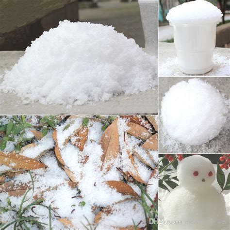 christmas decoration instant snow magic prop diy instant