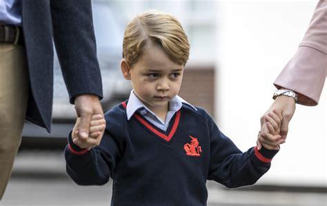 george empieza el cole 8448837843 la duquesa de cambridge la gran ausente en el primer d 237 a de colegio del pr 237 ncipe george