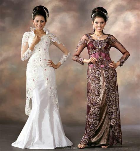 kumpulan foto model baju kebaya pengantin modern
