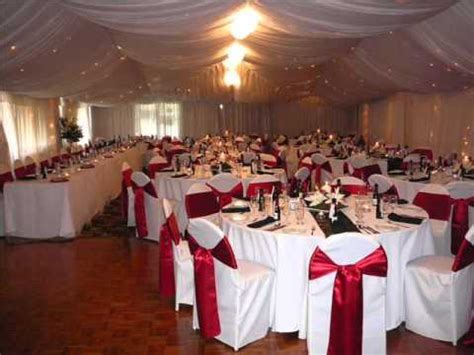 Red and White Wedding Decoration Ideas   YouTube