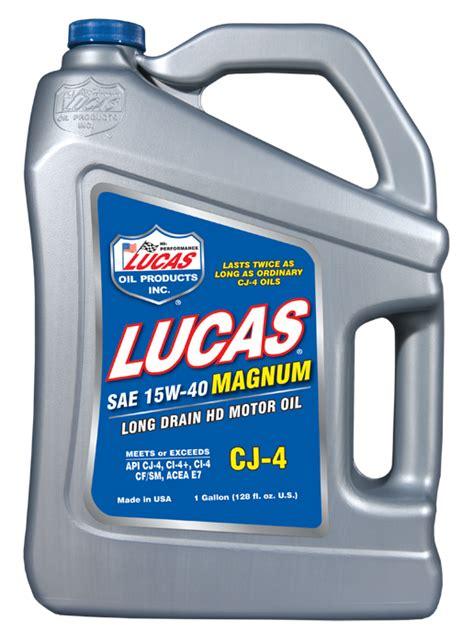 Lucas Magnum Cj 4 15w 40 lucas 10297 sae 15w 40 cj 4 petroleum motor 1 gallon jug autoplicity