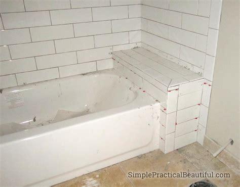 how to tile bathtub bathtub tile surrounds simple practical beautiful