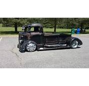 You Gonna Love This WICKED 1938 Ford COE Rat Rod