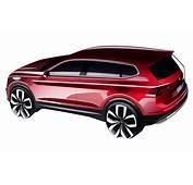 Volkswagen Tiguan Allspace Sketch Rear