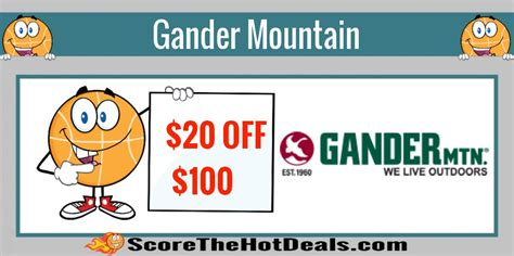Where Can You Buy Gander Mountain Gift Cards - save 20 off 100 at gander mountain includes firearms score the hot deals