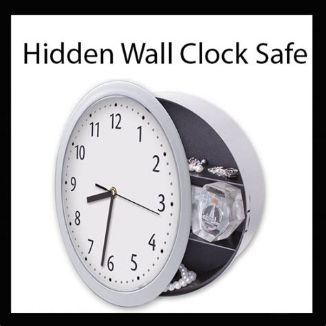 Safety Clock Safe by Wall Clock With Safe New Easy