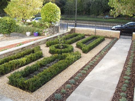 Box Garden Layout Garden Design Portfolio The Box Knot Garden New Leaf Landscapes Hshire
