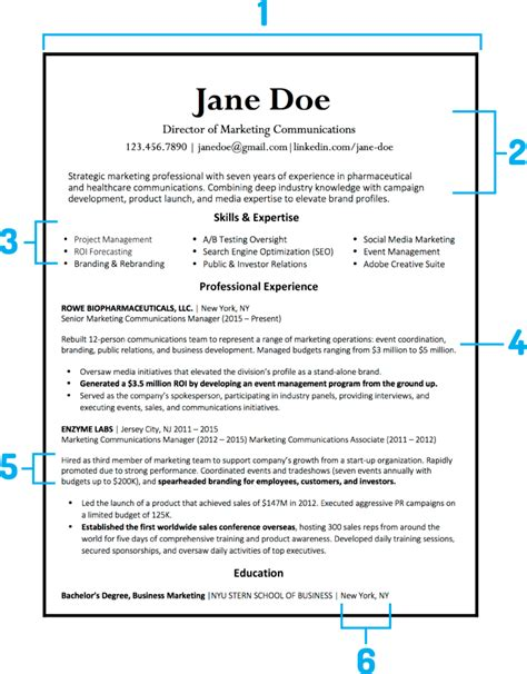 How Should A Resume Look Like