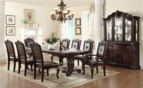 Aspenhome Classics 7pc Formal Dining Crown Kiera 7pc Pedestal Dining Set In Rich