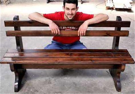 costruire una panchina di legno come costruire una panca di legno