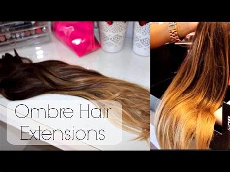 ombre hair extensions sally s bellami balayage hair extensions unboxing