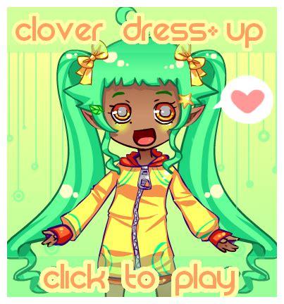 Clover Clothing Gamis Violla clover dress up by poiizu on deviantart