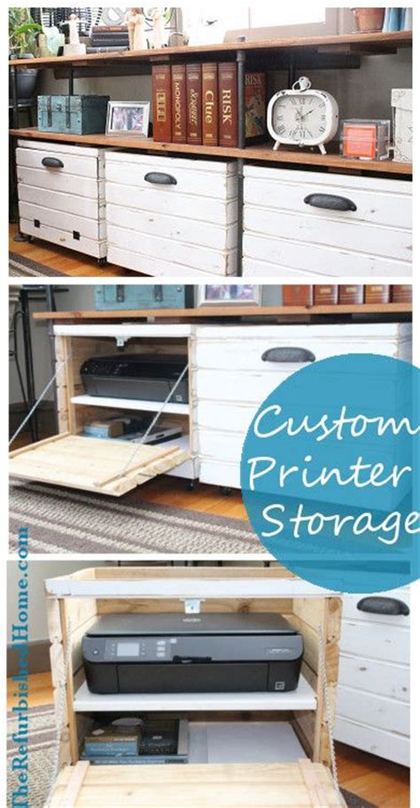 printer storage best 25 printer storage ideas on
