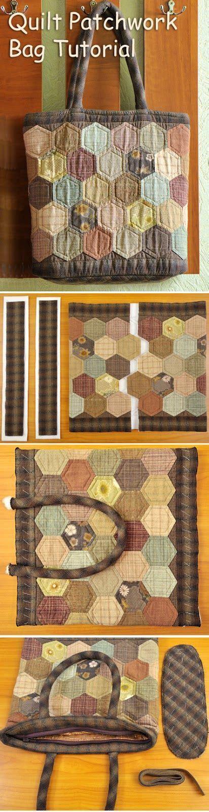 Easy Patchwork Bag Patterns - 25 unique patchwork bags ideas on quilt bag