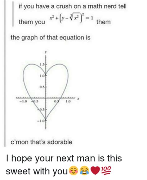 Math Nerd Meme - if you have a crush on a math nerd tell them you them the
