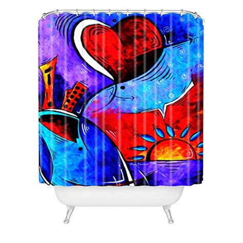 94 inch shower curtain deny designs 71 by 94 inch madart city in motion shower