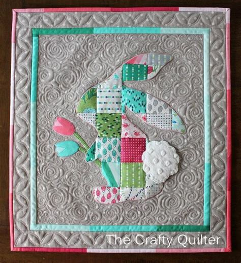Patchwork Rabbit Pattern - patchwork rabbit by julie cefalu craftsy