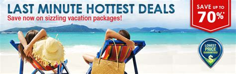 cheap  minute vacations  inclusive vacation packages
