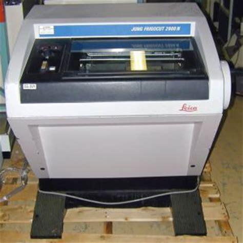 cryotome sectioning leica 2800n frigocut cryostat microtome cryotome