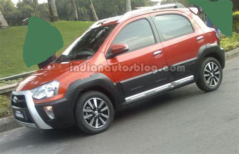 Toyota Etios In India Toyota To Showcase 2014 Corolla Etios Cross At Auto Expo