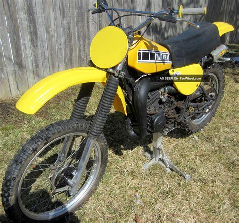 vintage yamaha motocross bikes 1977 yamaha yz250 yz 250 ahrma vintage motocross dirt bike