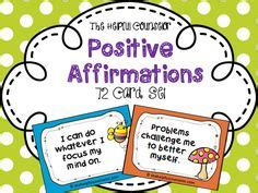 task cards template for affirmations pushing my anger buttons worksheets and task cards for