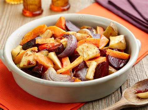 recipe for root vegetables roasted root vegetable recipe dishmaps
