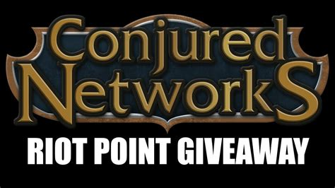 Riot Points Giveaway - 20 rp giveaway league of legends riot point giveaway closed youtube