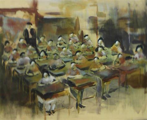 painting in school school room painting by wickline