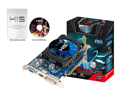 His R7 250x Icooler 1gb Gddr5 Pci E Dldvi Dhdmivga his r7 250 icooler boost clock 1gb gddr5 pci e hdmi sldvi