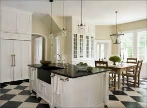 Granite countertops lantern pendant light chandelier farmhouse table
