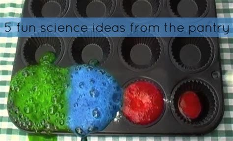 Kitchen Experiments by Science Experiments Cool Science Learning Activities