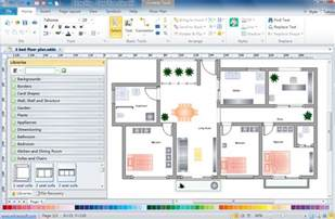 House Floor Plan Software by Floor Plan Design Software