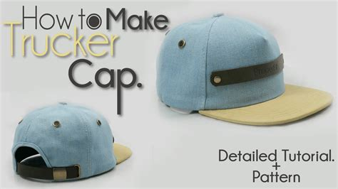 How To Make A Paper Baseball Cap - official how to make trucker hat new