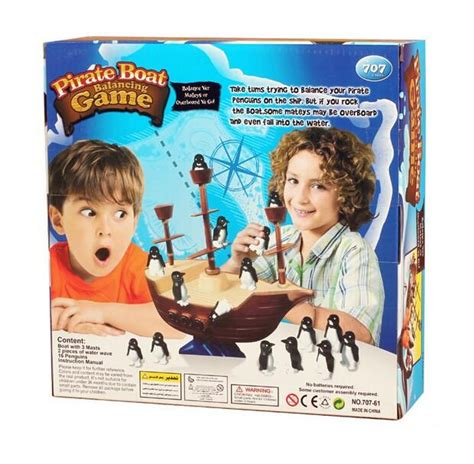 dont rock the boat family pirate boat balancing game don t rock the boat blance