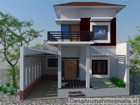 membuat rumah sederhana minimalis desain rumah minimalis 2 lantai type 36 36 6 21 21 60