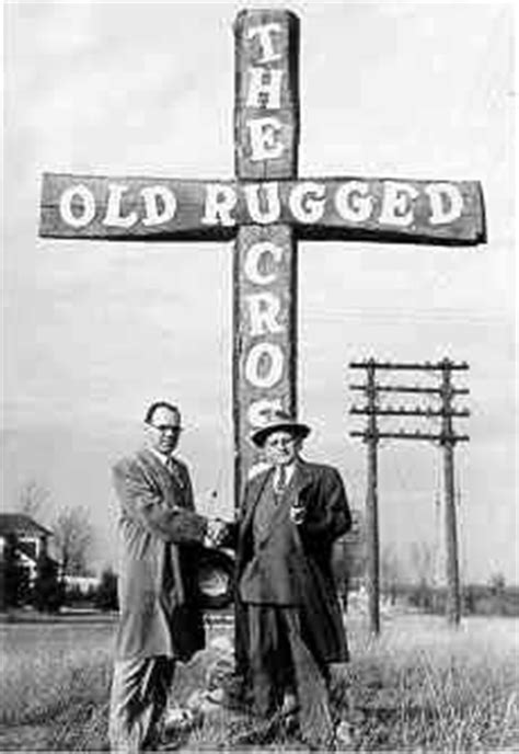 O Rugged Cross by George Bennard Shaw Wrote Quot The Rugged Cross Quot In