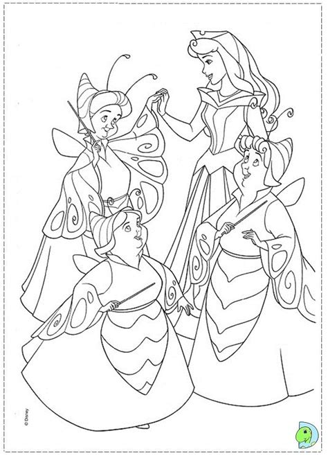 sleeping beauty coloringpage 71 jpg 691 215 960 disney coloring pages