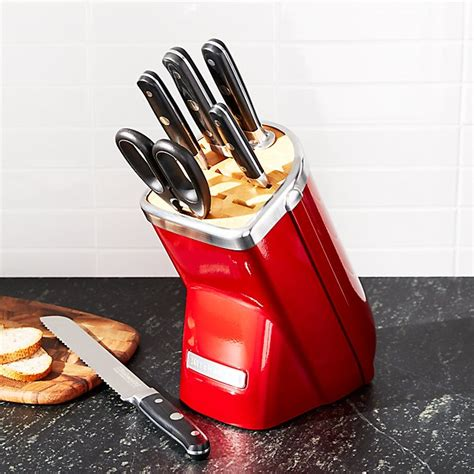 kitchenaid professional series  piece candy apple red