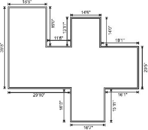 area of a floor plan how the exterior architectural features of a home built
