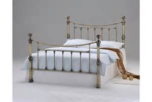 stratford antique brass bed frame or king size