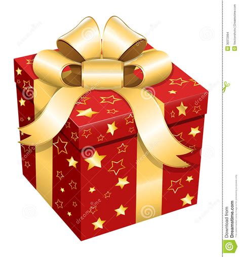 gift box christmas vector illustration stock vector