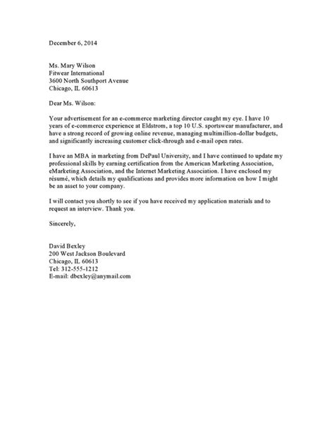 cover letter design editable sle of cover letter for